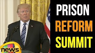 President Trump Delivers Remarks At The Prison Reform Summit | Mango News - MANGONEWS