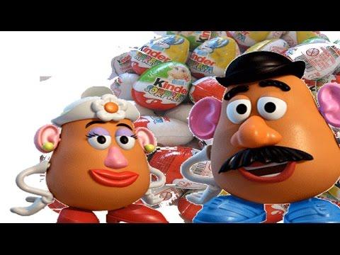 Kinder Surprise Eggs Kinder Pixar Cars Surprise Play Doh Disney Huevo Kinder sorpresa.