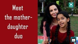 Mariam Khan and family reporting live   Tellychakkar   Exclusive   - TELLYCHAKKAR