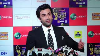 "Ranbir Kapoor On Rishi kapoor: ""He is doing very well & He'll be back soon""