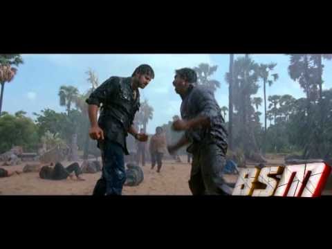 Best Fight Scene HD / Mirchi Movie (PowerFul Rain)