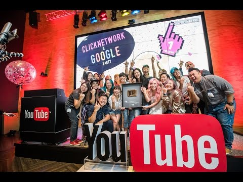 Getting Our YouTube Gold Play Button! (Clicknetwork x Google Party Livestream Recording)