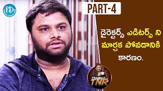 SR Sekhar Exclusive Interview Part #4 | Frankly With TNR | Talking Movies With iDream - IDREAMMOVIES