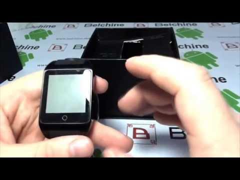 Unboxing : InWatch Z - la SmartWatch autonome - Belchine.net