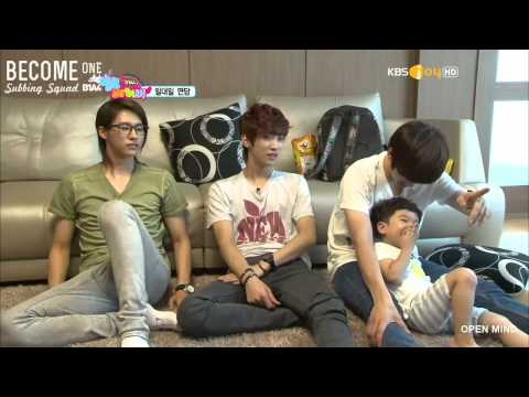 [B1SS] 120808 Hello Baby Season 6 with B1A4 - Episode 3 (2/4)