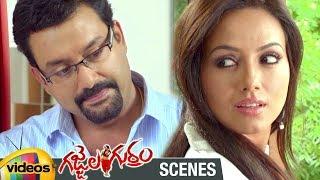 Sana Khan Gets Close to Suresh Krishna   Gajjala Gurram Telugu Movie Scenes   Mango Videos - MANGOVIDEOS