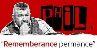 Phil Campion gets emotional about remembrance - SKYNEWS