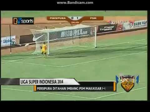 Persipura 1-1 PSM Makassar ISL 2014 (19 April 2014)