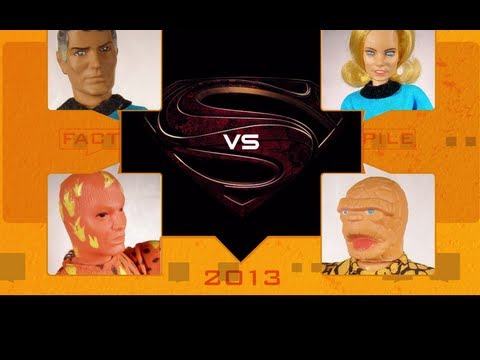 Superman Vs Fantastic Four