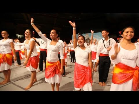 The Laie Hawaii Temple Youth Cultural Celebration