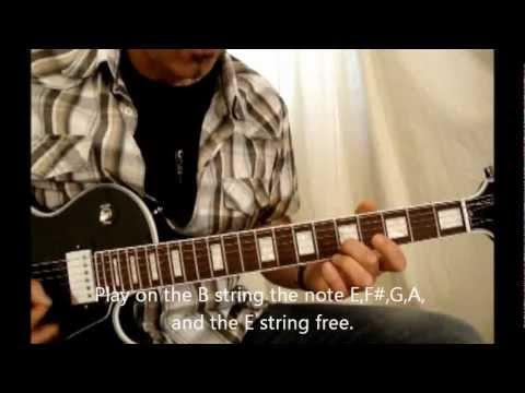 Live to rise .SOUNDGARDEN.Guitar lesson/tutorial.