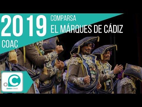 Sesión de Preliminares, la agrupación El marqués de Cádiz actúa hoy en la modalidad de Comparsas.