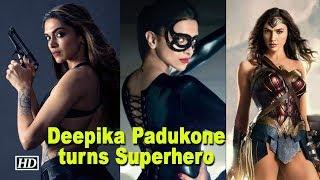 Deepika to turn Superhero inspired by Wonder Woman? - BOLLYWOODCOUNTRY