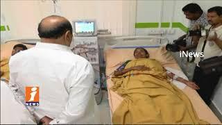 Minister Kamineni Srinivas Inauguration Dialysis Center In Govt Hospital | Gunrtur | iNews - INEWS