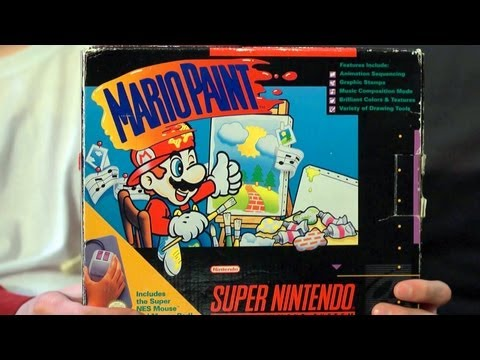 James &amp; Mike Play: Mario Paint