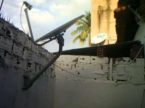 Apontamento para o satelite SES-6 em Maceió-Al