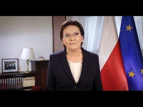 Życzenia Ewy Kopacz.