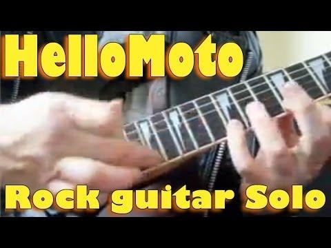 HelloMoto Rock Guitar Solo - Evaldo Devellis