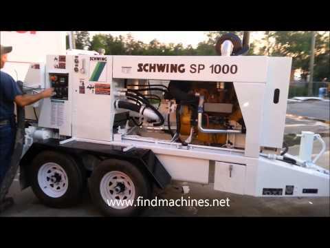 2012 schwing sp1000x Venta de bombas para concreto