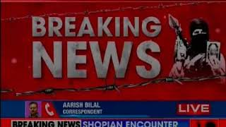 Encounter Underway In Shopian, Gun Battle Between Forces And Terrorists - NEWSXLIVE