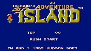 Adventure Island - NES Gameplay