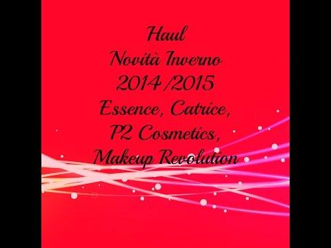 Haul Novità Inverno 2014/15 Essence, P2 Cosmetics, Catrice, MakeUp Revolution e tanto altro!