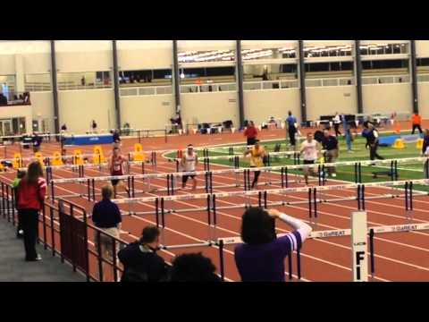 3-7-14 IWU Men's 60 Meter Hurdle Heptahalon NAIA Indoor National Championship