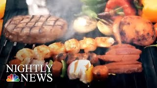 New Warning On Link Between High Blood Pressure And Grilled Meat | NBC Nightly News - NBCNEWS