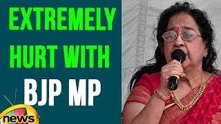 Actress Geethanjali Extremely Hurt With BJP MP Chinthamani Malviya Statements   Mango News - MANGONEWS