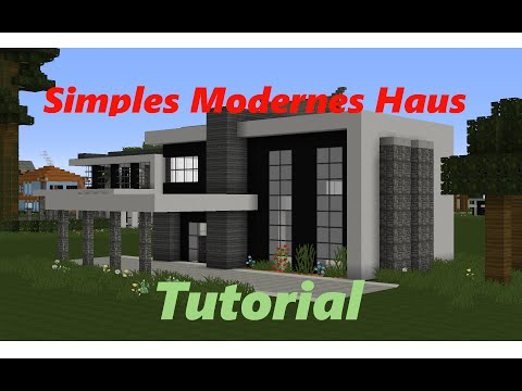 Related video for Minecraft modernes haus tutorial