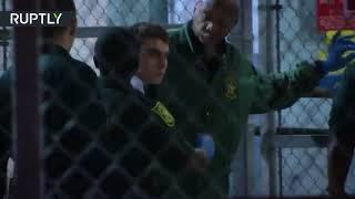RAW: Florida shooting suspect Nikolas Cruz arrives at Broward County jail - RUSSIATODAY