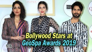 Shahid, Kriti, walk the red carpet of GeoSpa Awards 2019 - IANSINDIA