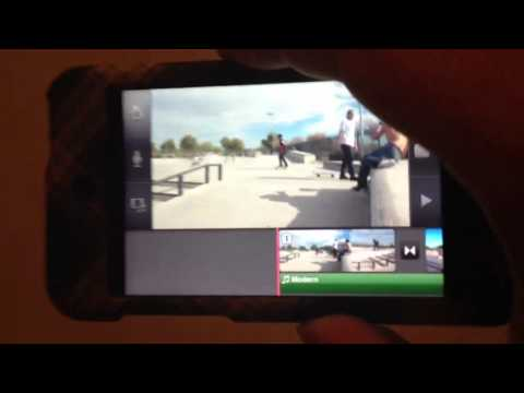iMovie app tutorial for IPhone,IPad, and IPod