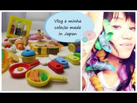 Vlog Domingo - Coleção de borrachas Japonesas e Coreanas