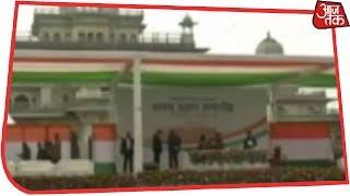 कांग्रेस अध्यक्ष Rahul Gandhi तीनों शपथ ग्रहण समारोह में हिस्सा लेंगे - AAJTAKTV