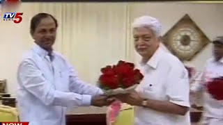 KCR meets Wipro Chairman Azim Premji : TV5 News - TV5NEWSCHANNEL