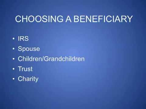 IRA Beneficiary Options