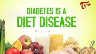 Health Facts | Diabetes is A Diet Disease | by Dr. Paturi V Rao - TELUGUONE