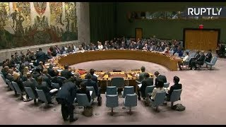 LIVE: UNSC meeting on non-proliferation of weapons of mass destruction - RUSSIATODAY