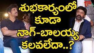 Reason Behind Balakrishna Skipping Akkineni Event - TELUGUONE