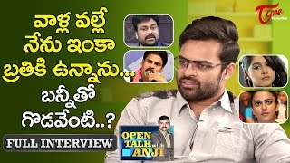 Sai Dharam Tej   Open Talk with
