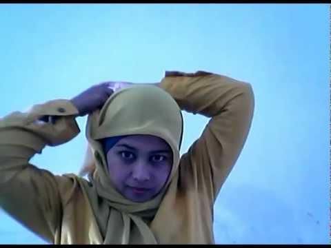 Cara Memakai Jilbab Segi Empat | Jilbab Modern