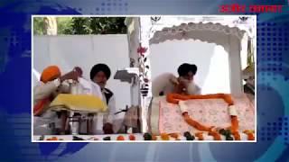 video : रखड़ा के पिता की बरसी में पहुंचे प्रकाश सिंह बादल