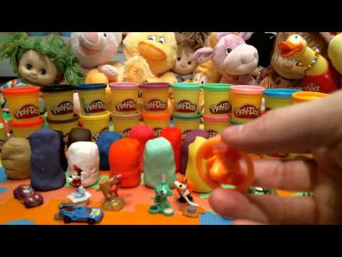 24 Surprise Eggs!!!Play-Doh Kinder Surprise Disney Frozen Peppa Pig Thomas and Friends