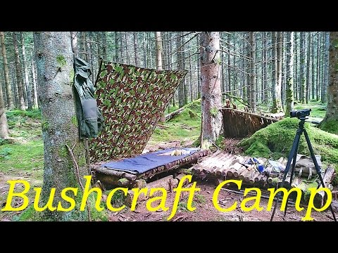 Bushcraft Skills for Beginners: How To Set Up A British Army Shelter Sheed (Basha)