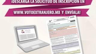 Pasos para votar por el presidente de México desde el extranjero
