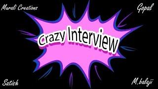 Crazy Interview - A Comedy Short film - Telugu Short Film 2016 - YOUTUBE