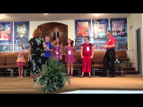 VBS 2014 / PreTeen Class / He is God's Son