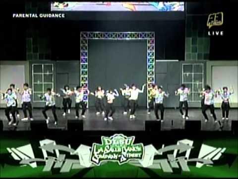 First UAAP Streetdance Competition - De La Salle University (Champion)