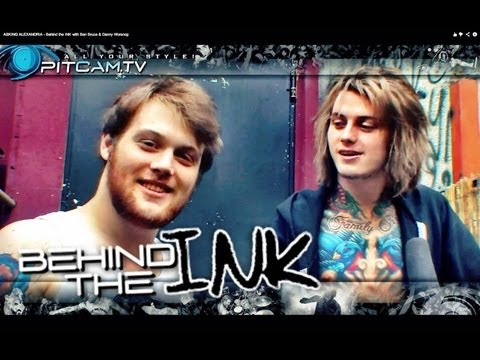 ASKING ALEXANDRIA - Behind the INK with Ben Bruce &amp; Danny Worsnop
